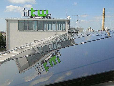 Solaranlage an der HTW Berlin