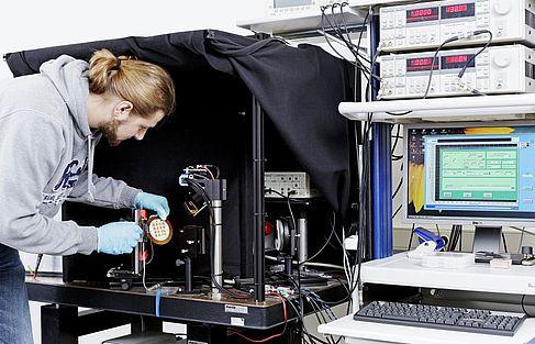 Herstellung einer Solarzelle